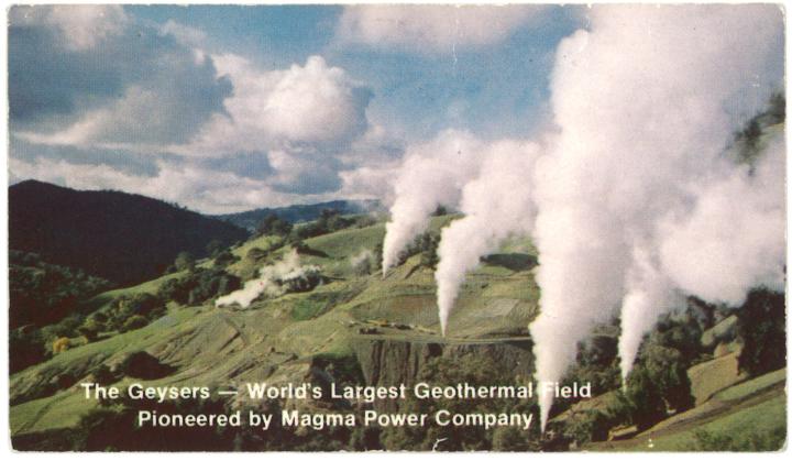 Geysers Geothermal Field
