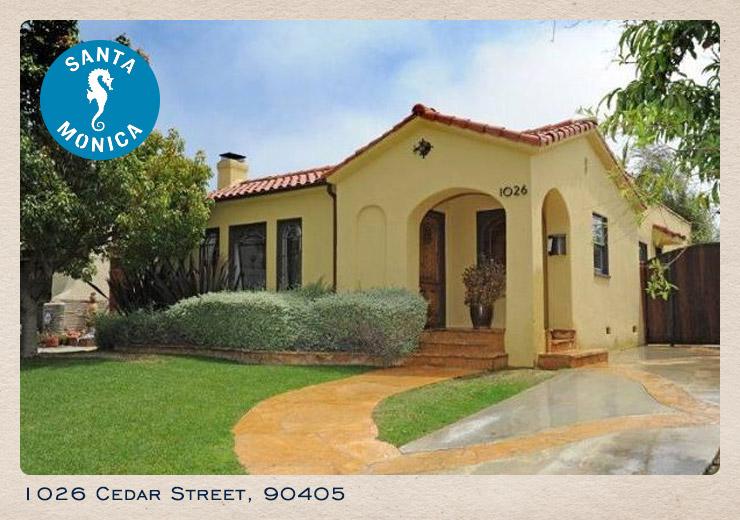1026 Cedar Street card