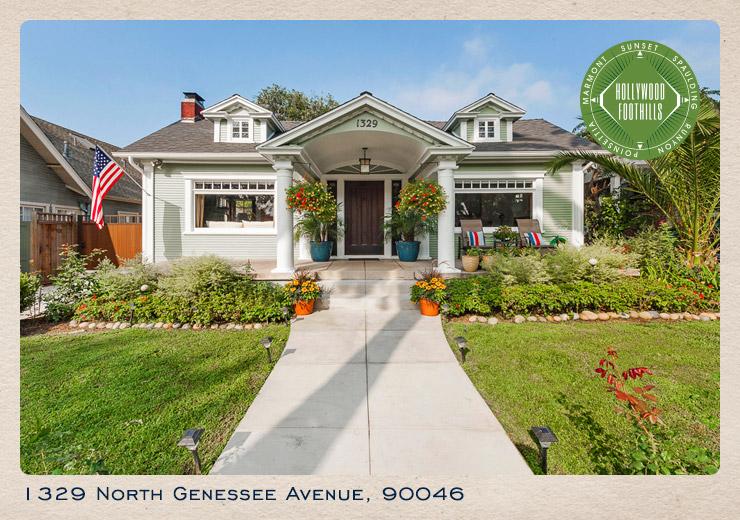 1329 North Genessee Avenue