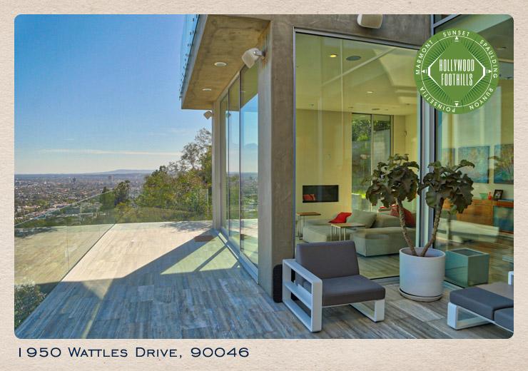 1950 Wattles Drive postcard