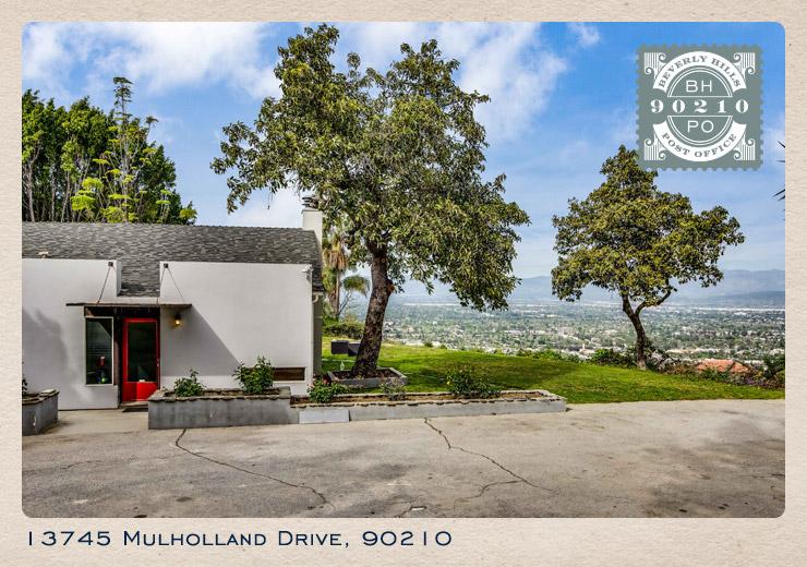 13745 Mulholland Drive card