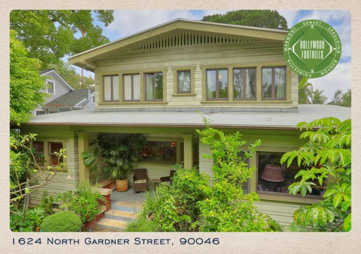 1624 North Gardner Street: Classic California Bungalow