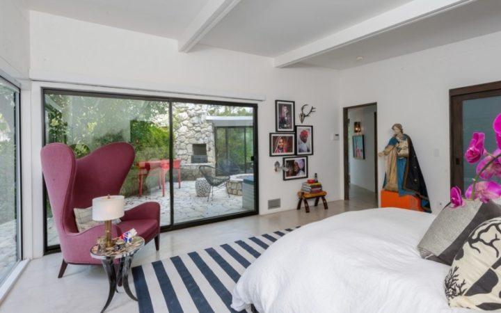 3343 Adina Drive master bedroom and patio