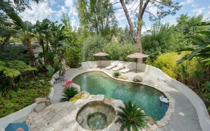 3343 Adina Drive pool above