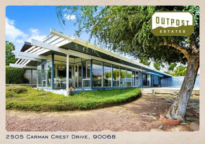 2505 Carman Crest Drive postcard