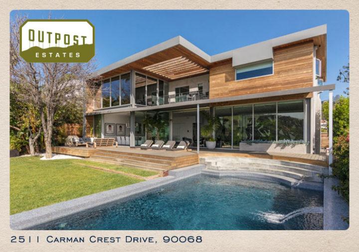2511 Carman Crest Drive postcard